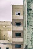 Λυπημένα κτήρια στοκ φωτογραφία