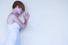 λυπημένη γυναίκα Στοκ Εικόνες