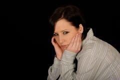 λυπημένη γυναίκα Στοκ Φωτογραφίες