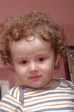 Λυπημένος λίγο μωρό Στοκ Φωτογραφίες