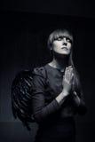 Μόνος άγγελος Στοκ φωτογραφία με δικαίωμα ελεύθερης χρήσης