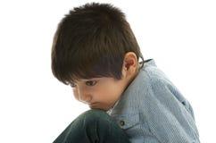 Λυπημένο αγόρι Στοκ Φωτογραφίες