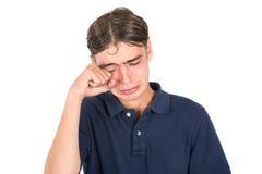 Λυπημένο αγόρι nerd Στοκ φωτογραφία με δικαίωμα ελεύθερης χρήσης