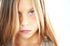 Λυπημένο παιδί Στοκ Εικόνα
