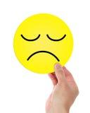 Λυπημένο πρόσωπο Στοκ Εικόνες