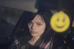 Λυπημένο χαμόγελο Στοκ Φωτογραφίες