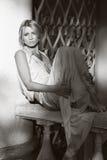 Λυπημένο όμορφο κορίτσι Στοκ φωτογραφίες με δικαίωμα ελεύθερης χρήσης