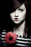 Λυπημένο mime Στοκ φωτογραφία με δικαίωμα ελεύθερης χρήσης
