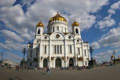 λυτρωτής της Μόσχας εκκλησιών Χριστού Στοκ Εικόνες