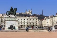 Λυών, Γαλλία. Στοκ εικόνα με δικαίωμα ελεύθερης χρήσης