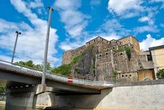 Λυών, οχυρό Άγιος Jean Στοκ φωτογραφία με δικαίωμα ελεύθερης χρήσης