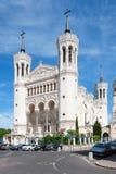 Λυών, Ροδανός-Alpes, Γαλλία - 19 Μαΐου: Βασιλική της Notre Dame de Fourviere Στοκ φωτογραφία με δικαίωμα ελεύθερης χρήσης