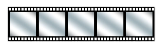 λωρίδα κινηματογράφων Στοκ εικόνες με δικαίωμα ελεύθερης χρήσης