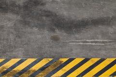 λωρίδες κινδύνου Στοκ Φωτογραφίες