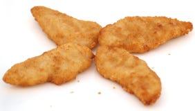 λωρίδες κοτόπουλου Στοκ φωτογραφίες με δικαίωμα ελεύθερης χρήσης