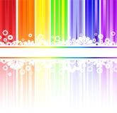λωρίδες ουράνιων τόξων λ&omicron διανυσματική απεικόνιση