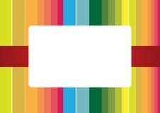 λωρίδες ουράνιων τόξων πλαισίων Στοκ φωτογραφία με δικαίωμα ελεύθερης χρήσης