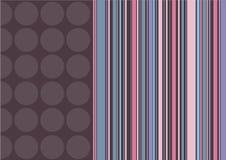 λωρίδες σημείων καφέ καρ&alpha απεικόνιση αποθεμάτων