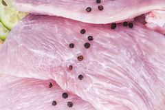 Λωρίδα στηθών κοτόπουλου Στοκ φωτογραφία με δικαίωμα ελεύθερης χρήσης