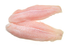 Λωρίδα των ψαριών Pangasius Στοκ εικόνα με δικαίωμα ελεύθερης χρήσης