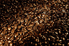Λόγοι καφέ Στοκ φωτογραφία με δικαίωμα ελεύθερης χρήσης