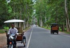 Λόγοι ναών της Καμπότζης Στοκ εικόνα με δικαίωμα ελεύθερης χρήσης