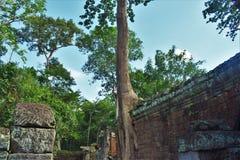 Λόγοι ναών της Καμπότζης Στοκ Φωτογραφία