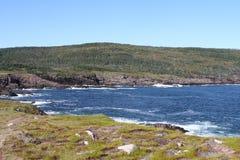 Λόγχη ακρωτηρίων, νέα γη, Καναδάς Στοκ Εικόνα