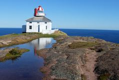 Λόγχη ακρωτηρίων, νέα γη, Καναδάς Στοκ εικόνες με δικαίωμα ελεύθερης χρήσης