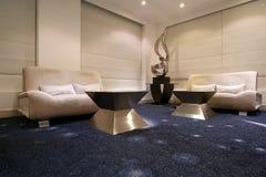 Λόμπι ξενοδοχείων σε ένα σύγχρονο ύφος Στοκ Εικόνες