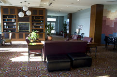 Λόμπι ξενοδοχείων της προκυμαίας του Σιάτλ Marriott στοκ εικόνα με δικαίωμα ελεύθερης χρήσης