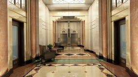 Λόμπι του Art Deco Στοκ Εικόνες