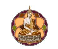 Λόρδος του Βούδα απεικόνιση αποθεμάτων