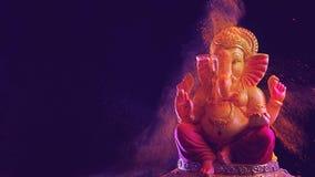 Λόρδος Ganesha, φεστιβάλ Ganesha απόθεμα βίντεο