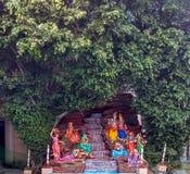 Λόρδος Krishna και Radha στοκ εικόνα
