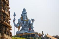 Λόρδος Shiva Statue σε Murudeshwar, Karnataka, Ινδία στοκ φωτογραφίες