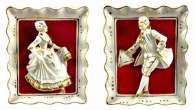 Λόρδος και κυρία πορσελάνης Στοκ εικόνα με δικαίωμα ελεύθερης χρήσης