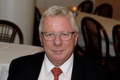 Λόρδος anuancement δημάρχου Henrik Zimino mae ot επιδιώκει τη θέση δημάρχου Στοκ εικόνα με δικαίωμα ελεύθερης χρήσης