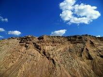 Λόφοι άμμου Στοκ Φωτογραφίες