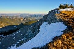 Λόφοι από το βουνό λιβαδιών, Αλμπέρτα, Καναδάς Στοκ εικόνα με δικαίωμα ελεύθερης χρήσης