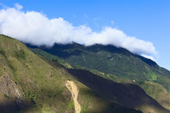 Λόφοι γύρω από Banos, Ισημερινός Στοκ Εικόνες