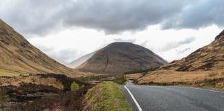 Λόφοι και βουνά Glencoe στοκ φωτογραφίες