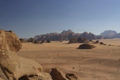 Λόφοι και η κενή έρημος στοκ φωτογραφίες με δικαίωμα ελεύθερης χρήσης