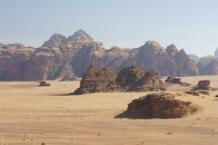 Λόφοι και η κενή έρημος στοκ εικόνες