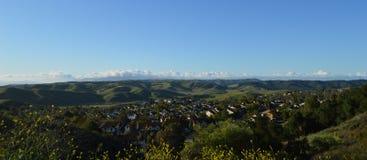 Λόφοι Καλιφόρνια Chino Στοκ εικόνες με δικαίωμα ελεύθερης χρήσης
