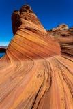 Λόφοι κογιότ στους πορφυρούς απότομους βράχους Αριζόνα Στοκ εικόνα με δικαίωμα ελεύθερης χρήσης