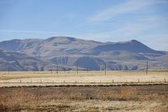 λόφοι πεδίων Καλιφόρνιας Στοκ εικόνες με δικαίωμα ελεύθερης χρήσης