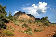 λόφοι πεζοπορίας αργίλο στοκ εικόνα