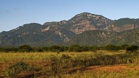 Λόφοι περιοχών Chaco Στοκ εικόνες με δικαίωμα ελεύθερης χρήσης