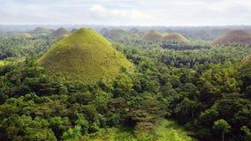 Λόφοι σοκολάτας, Φιλιππίνες Στοκ Εικόνες